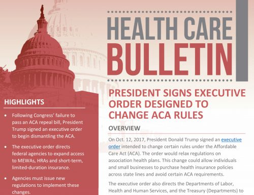 What you need to know: ACA Executive Order and Subsidies
